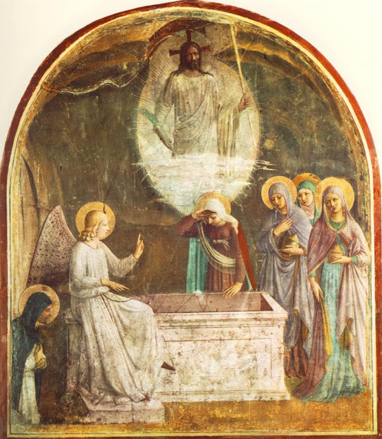 Fra-Angelico_Resurrection-du-Christ-femmes-au-tombeau_1440-Convento-San-Marco_Florence